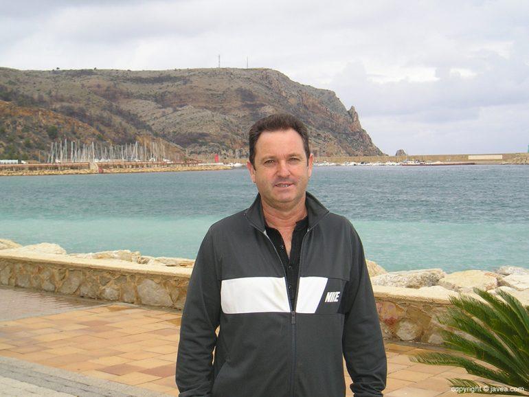 Juanjo García presidente de la Comisión de Fiestas de la Mare de Déu de Loreto