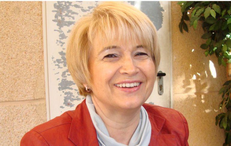 La escritora Cecilia Martí