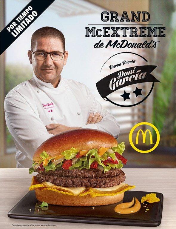 McDonalds Dani García
