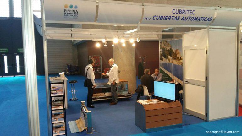 Stand Cubritec en la Feria de Barcelona