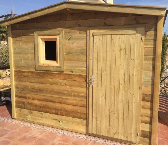 casita madera Bricomaderwood