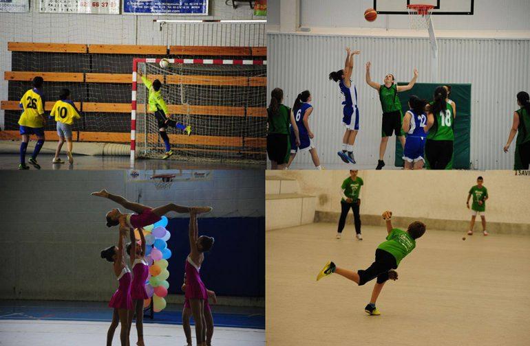 Collage de competiciones de las ligas  del Cema