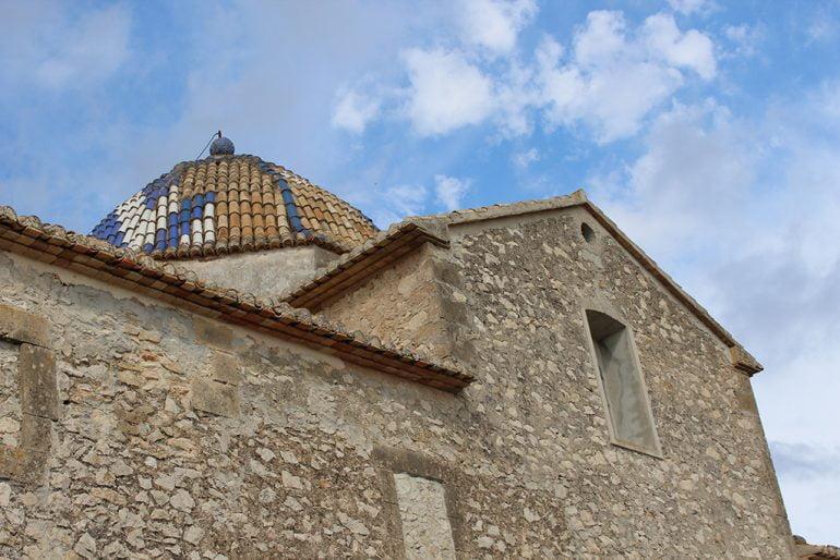 Cúpula de la iglesia de El Poble Nou de Benitatxell
