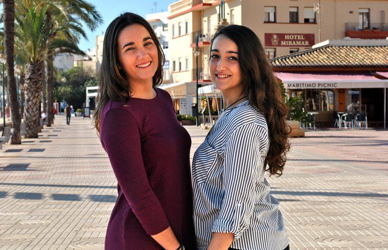Carmen Torres y Mar García, Abanderadas Moros i Cristians, Xàbia 2016
