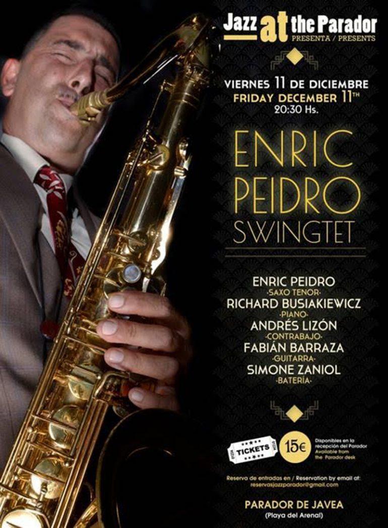 Cartel Enric Peidro Swingtet