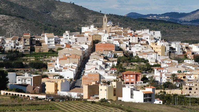 Casco urbano de El Poble Nou de Benitatxell