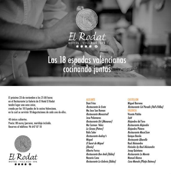 Cena hotel El Rodat