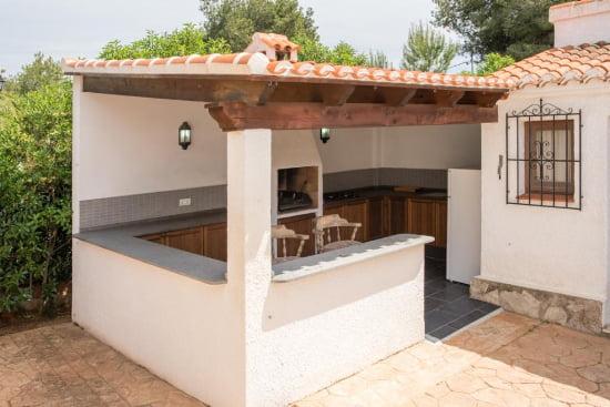 Cocina exterior casa virginia j x Cocina exterior