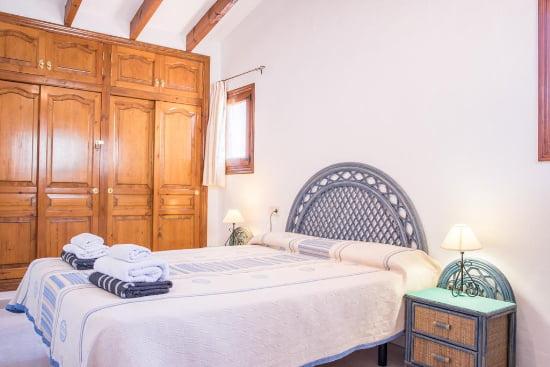 Dormitorio casa virginia
