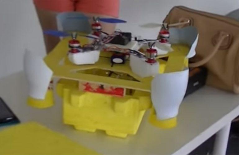 Dron de la Feria Aérea