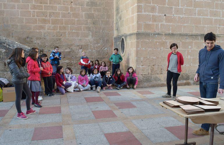 El taller Camins Escolars en Xàbia