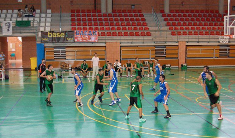 Equipo senior del CB Joventut durante un partido