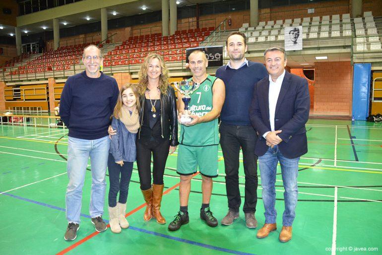 La familia de Miguel Buigues con Colomer y Chulvi