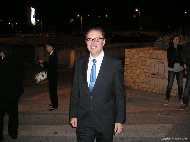 Manolo Berenguer presidente de la Banda de Música de Xàbia