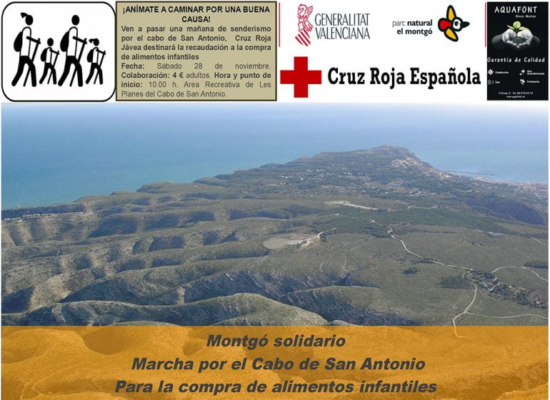 Xàbia Cruz Vermelha Solidariedade março