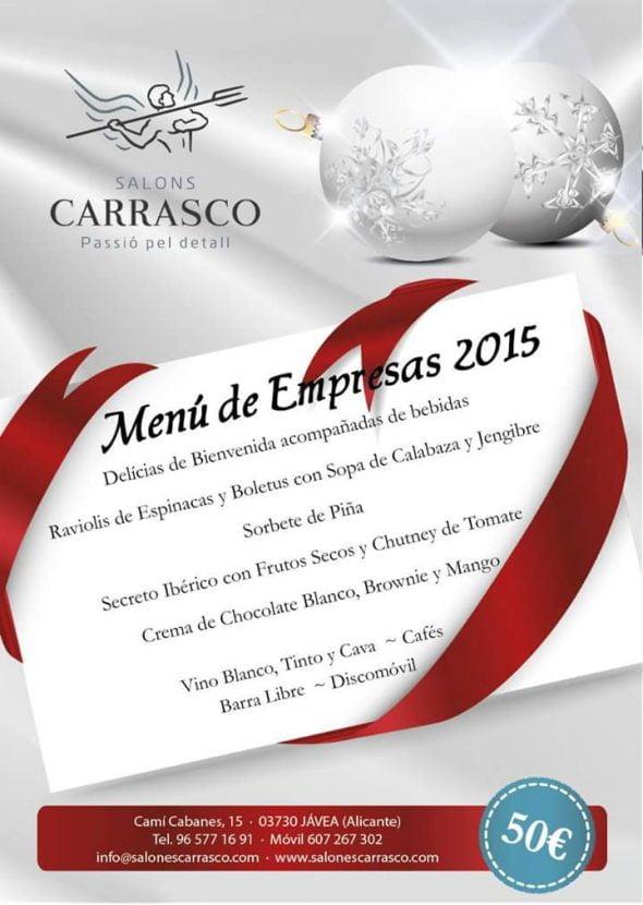 Menú de empresas Carrasco