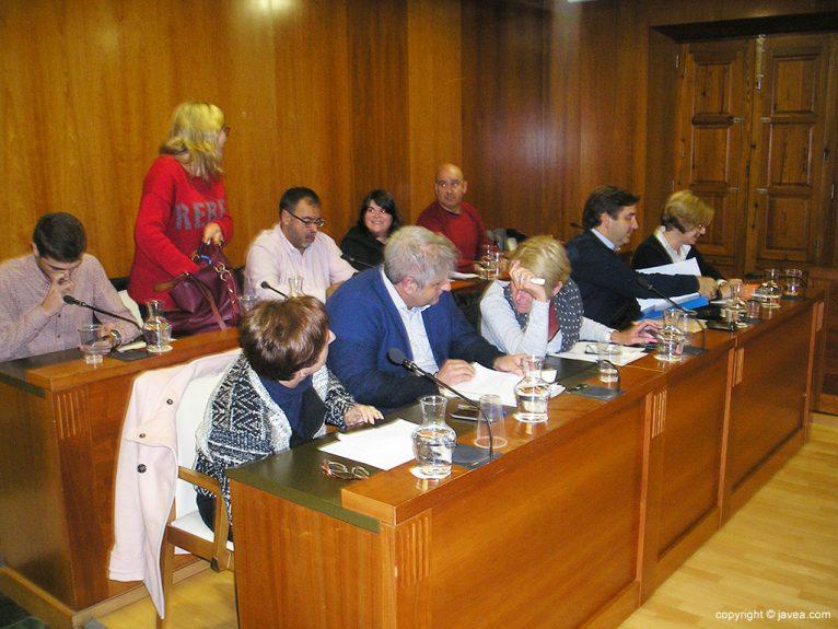 Componentes del equipo de gobierno Xàbia