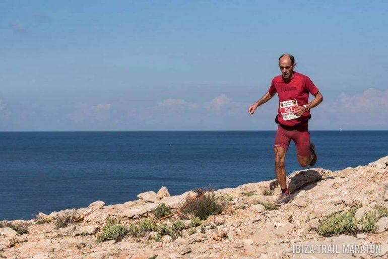Ignacio Cardona en la Ibiza Trail Maraton