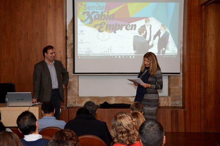 Ponentes en el primer taller de Xàbia Emprén