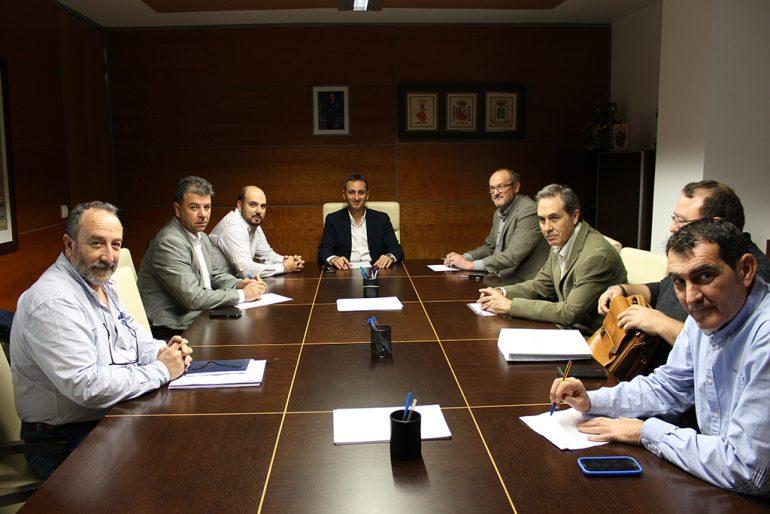 Reunión de César Sánchez con Femenía en Calpe