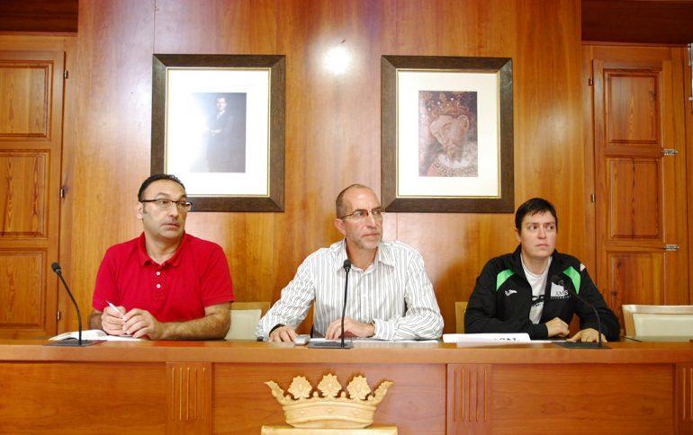 Vicent Colomer presentado las actividades deportivas