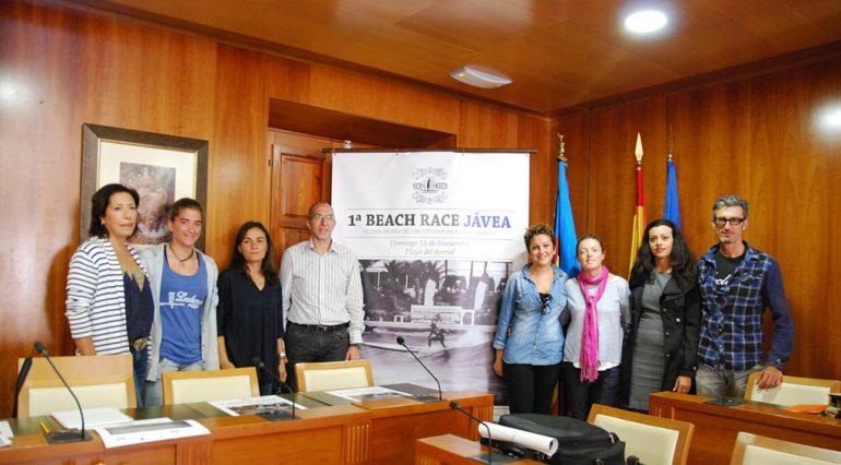 Presentacion beach race en Xàbia