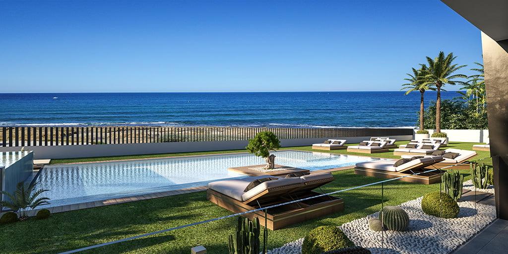 Exterieur uitzicht woning Atina Real Estate