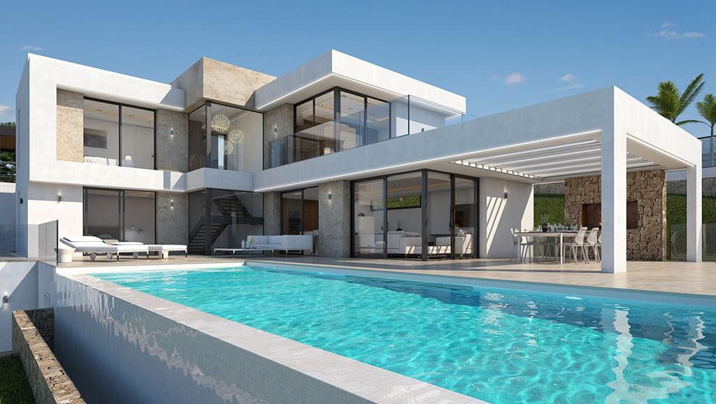 Huis met zwembad Atina Inmobiliaria