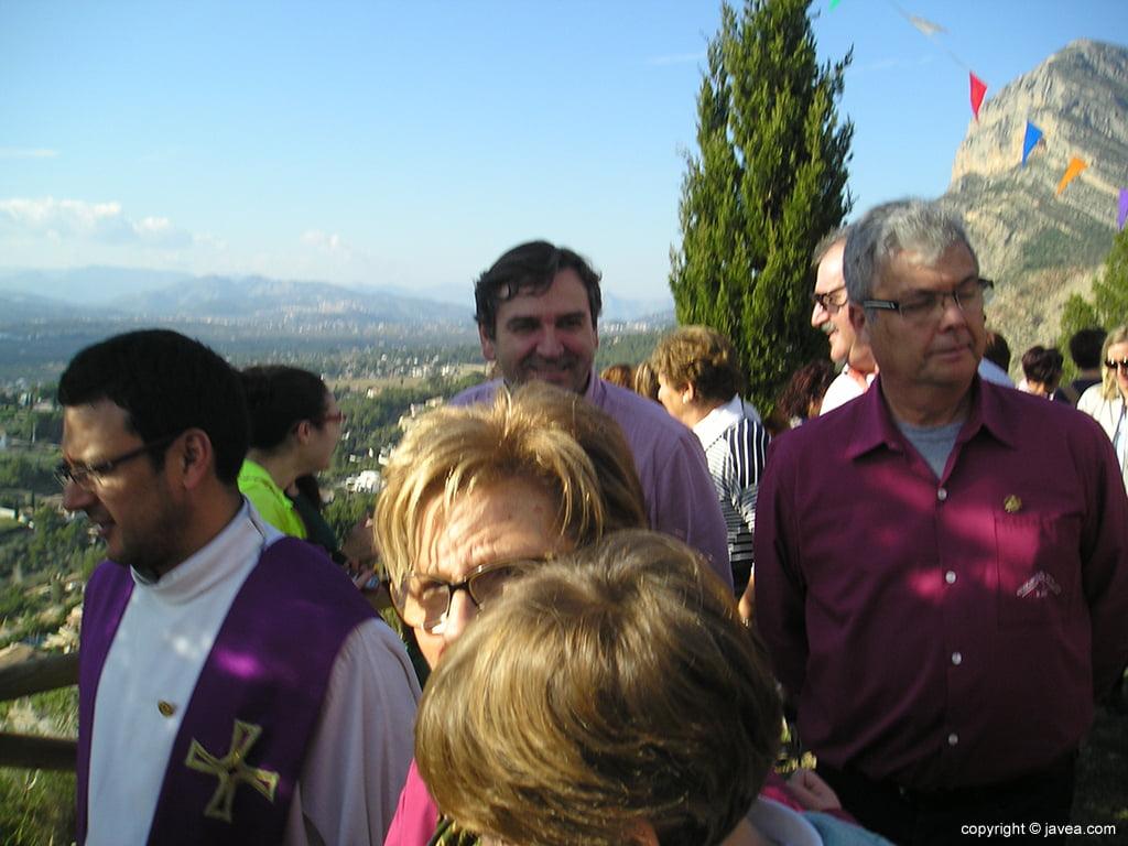 Antonio Miragall in der Prozession von Santa Llúcia