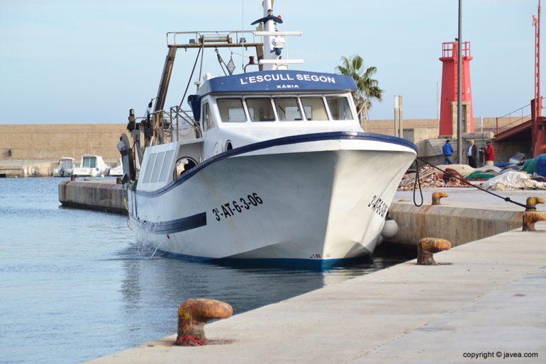 Barca de pesca de Xàbia
