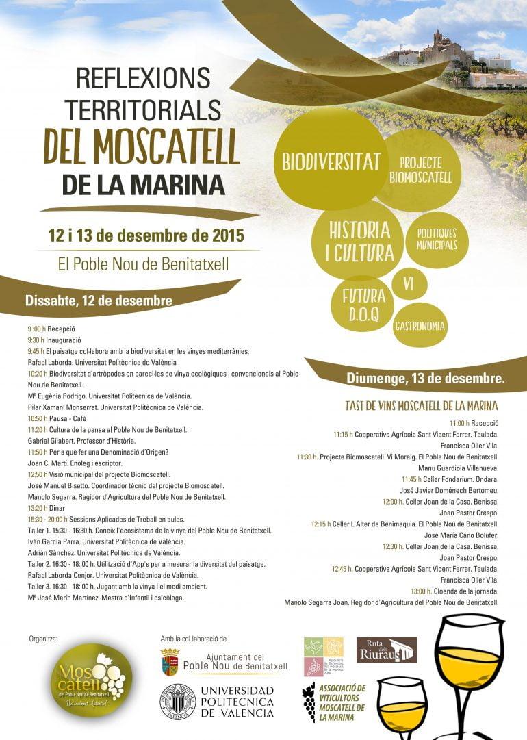 Cartel Jornadas de Moscatell