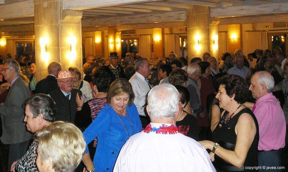 Imagen: Fiesta de fin de año de los jubilados