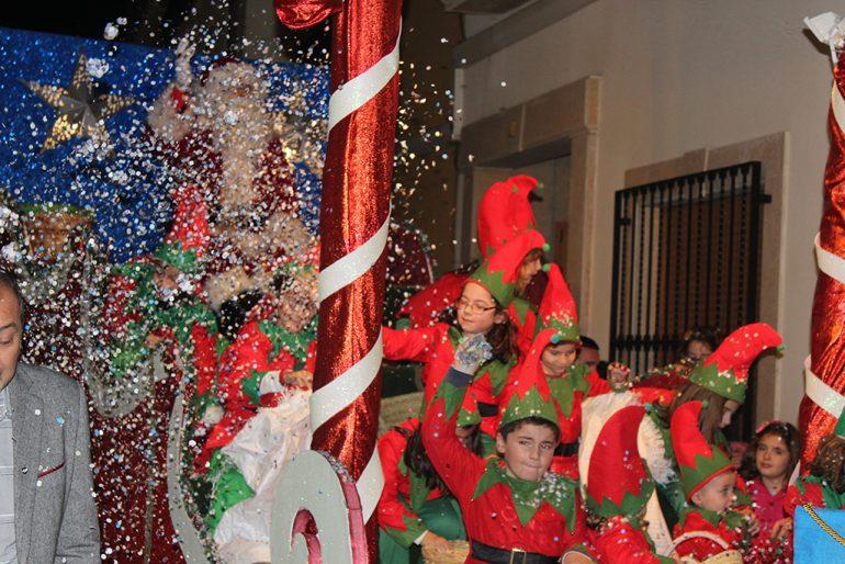 Papá Noel y sus elfos en Benitatxell