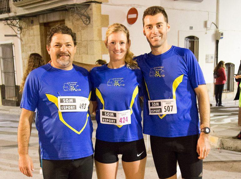 Pepe Vidal, Cristina Roselló y Ángel Blasco
