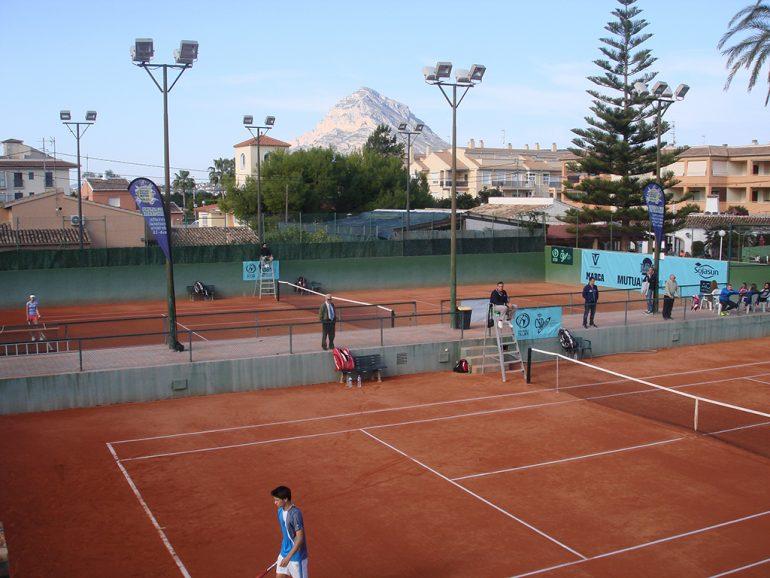 Pistas del Club Tenis Jávea