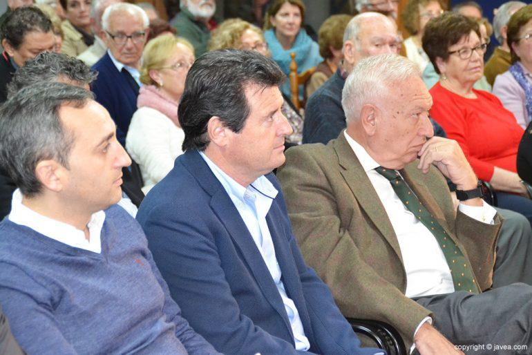 Sánchez, Ciscar y García-Margallo