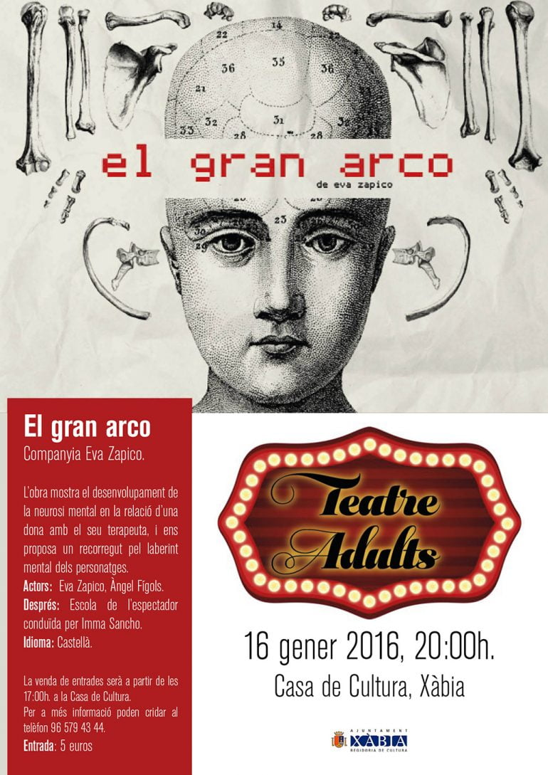 Cartell Teatre Adults Gran Arco