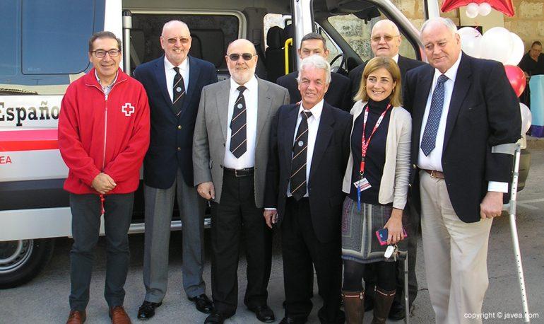 Domenech con representantes de las Asociaciones de Residentes