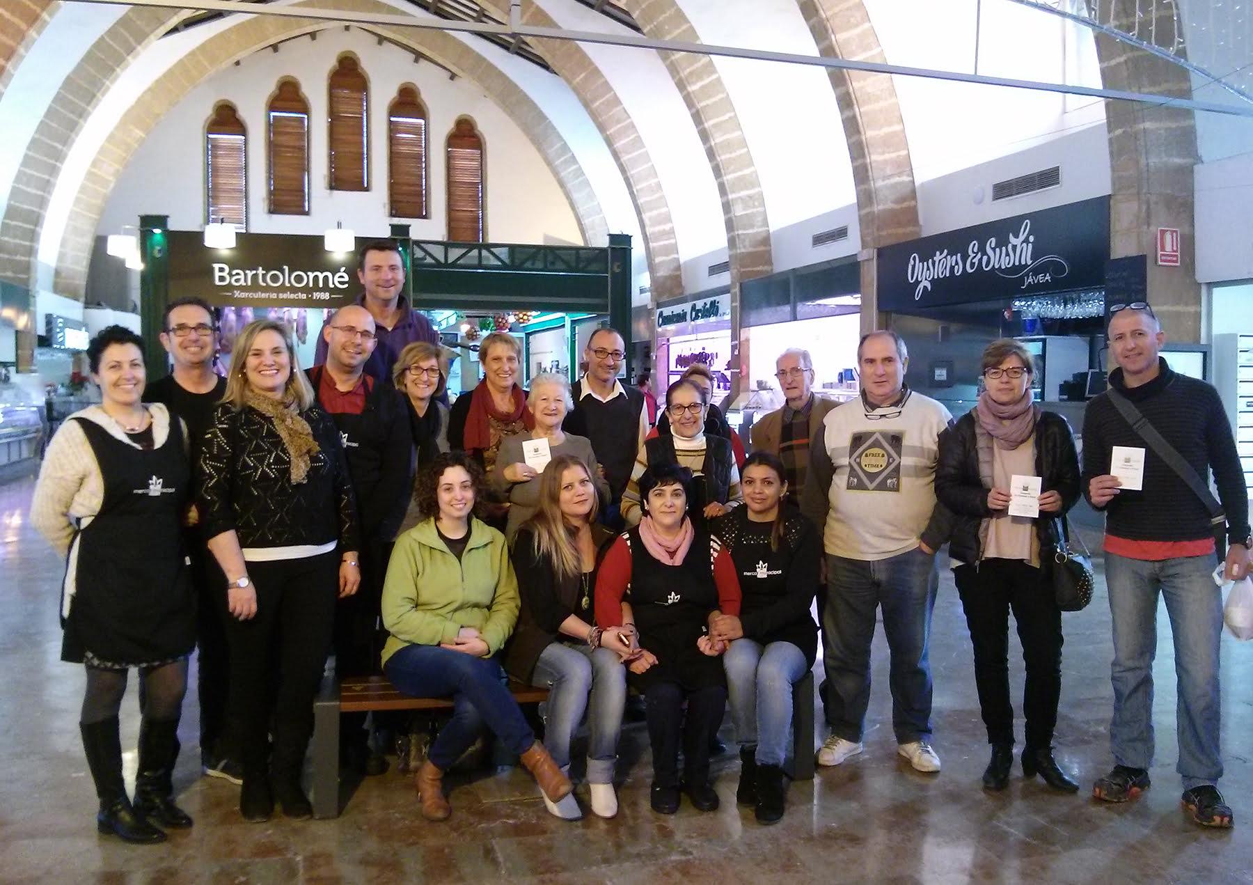 Ganadores de los vales de compra del Mercat Municipal de Xàbia