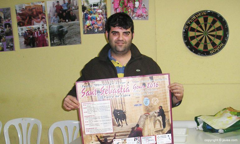 Guillermo Bolufer presidente e la Asociació Cultural Taurina Xàbia