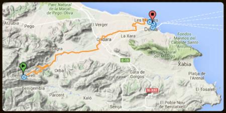 Mapa de Ruta 1