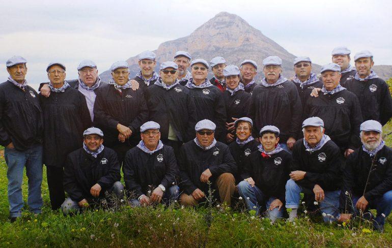 Miembros de El Tiraset de Xàbia