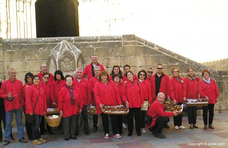 Miembros de la comisión de San Sebastián