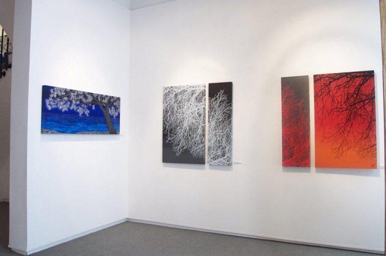 Obras en la Isabel Bilbao Galeria
