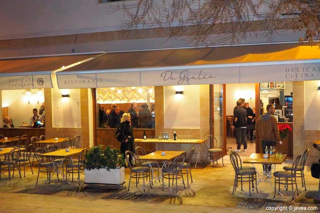 Fachada nueva restaurante giulia