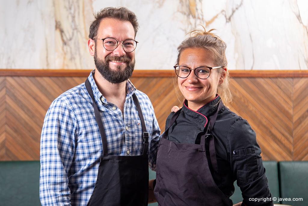 Giulia y Dani Gerentes – Restaurante Giulia