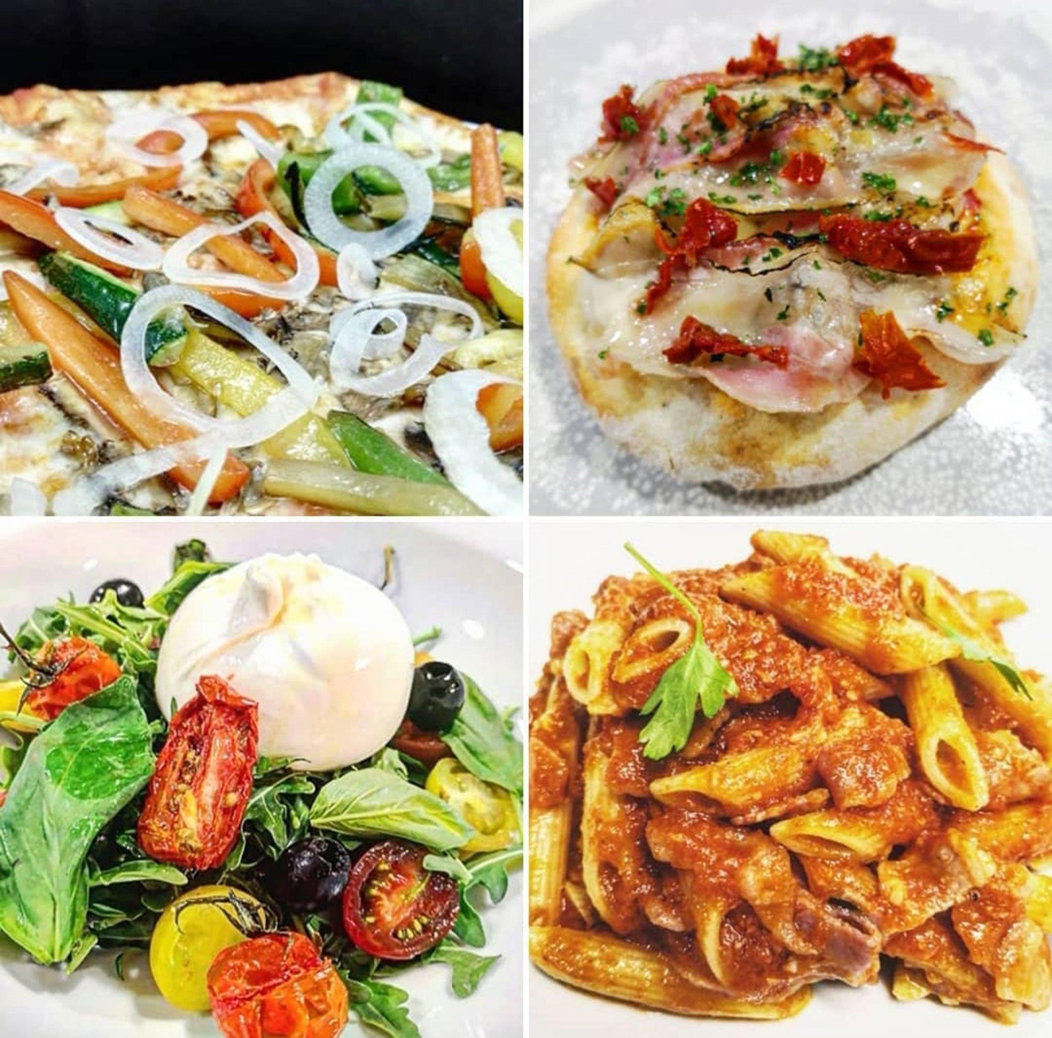 Platos de Restaurante Da Giulia