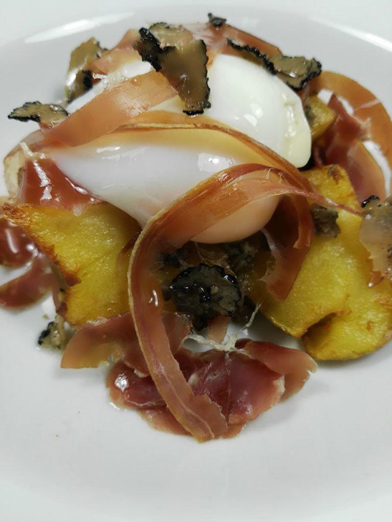 Rico plato Restaurante Giulia