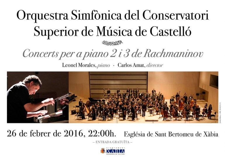 Cartel Orquesta Simfònica Castelló