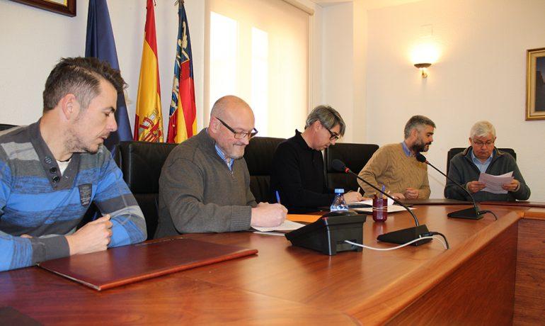 Firma del convenio con el Colegio Territorial de Alicante